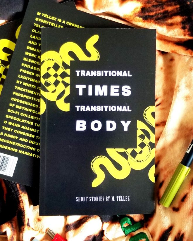 2020 edition of TRANSITIONAL TIMES TRANSITIONAL BODY with a black cover and green snakes design