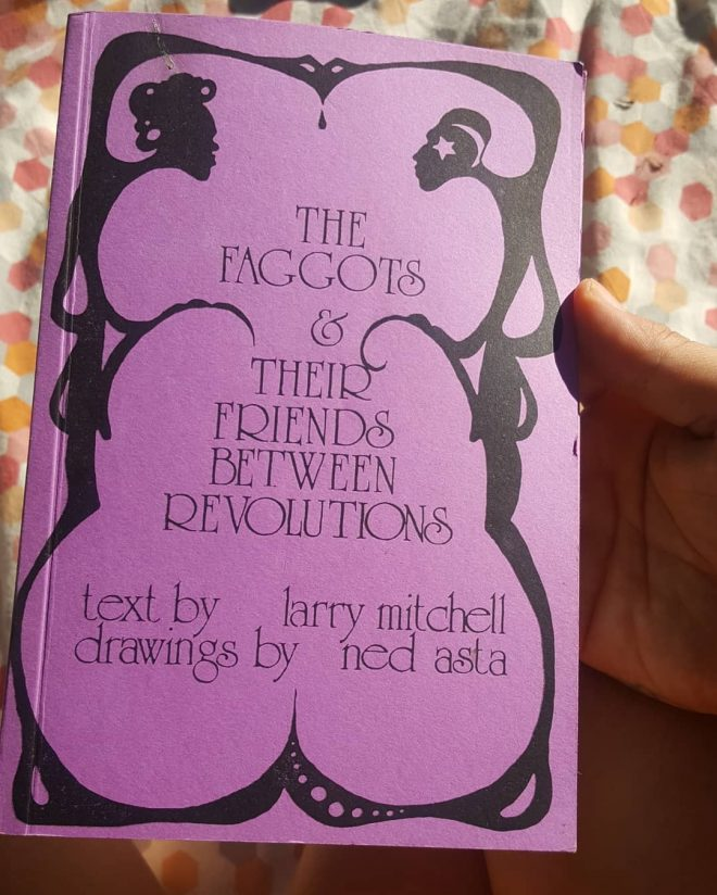 The Contagion Press edition of the book, with lavender purple cover